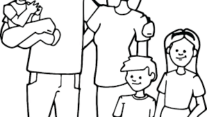 Family Coloring Pages Family Coloring Page Family Colouring Pages