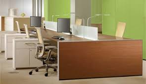green office interior. What Is Your Office Interior Design Saying About Company? Green L