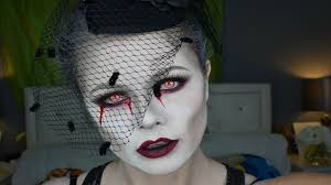 picture of dead widow makeup tutorial