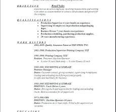 Fashion Resume Examples New Retail Sales Resume Examples Manager Representative Creerpro