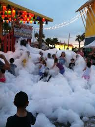 the hangout in gulf ss al the kids just love the bubble machine no
