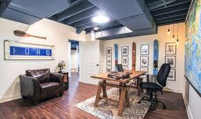 basement remodels. Fine Basement Basement Office Remodel  After In Remodels U