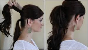 how to make your ponytail look thick