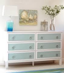 ikea tarva dresser hack. Ikea Tarva Dresser Hack 6-drawer Blue Burlap Panels T