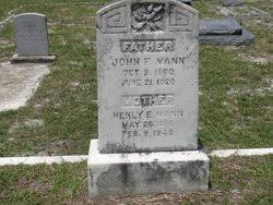 Henly Etta Ward Mann (1866-1943) - Find A Grave Memorial