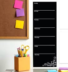 chalk calendar wall decal magnetic chalkboard contact paper fancy ...