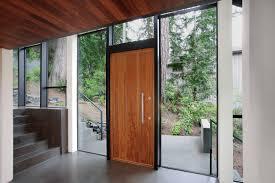 Entry door / swing / solid wood / security - RONDO V E80