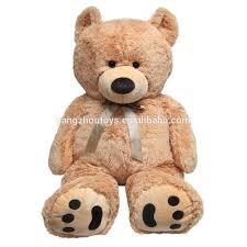 Big Light Brown Teddy Bear High Quality Large Big Teddy Bear Plush Toy 200cm Or 2m In Light Brown With Bow Buy Large Teddy Bear Big Teddy Bear 200cm Teddy Bear 2m Product On