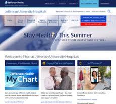 Thomas Jefferson My Chart Jefferson University Hospitals Competitors Revenue And