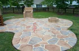 cement patio cost lovely stamped concrete designs simple ideas patio tiles over concrete colored