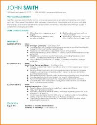 7 Business Administration Resume Weekly Template