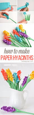 Small Picture 41 of the Easiest DIYs Ever Hyacinth flowers Simple craft