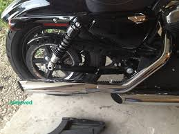 my forty eight sportster mods