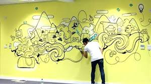 office wall painting. Fine Painting Awesome Cool Office Wall Ideas Creative Painting For  Art Design   To Office Wall Painting R