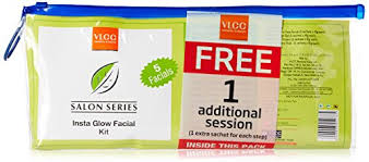 vlcc insta glow 5 kit with 1 free additional session