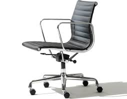 Office chair eames Ribbed Eames Aluminum Group Management Chair Hive Modern Eames Aluminum Group Management Chair Hivemoderncom