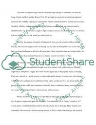elvis presley vs michael jackson essay example topics and well related essays decline of michael jackson