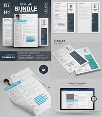 Resume Design Templates Resumes Psd Graphic Word Creative Free