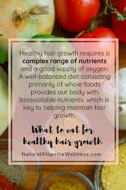foods that support hair growth for