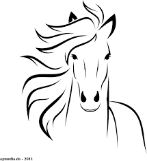 horses drawings easy. Unique Horses White Horse By Marauder  Just A Horse Made With Inkscape Easy Drawing  To Horses Drawings