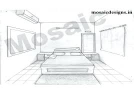 Bedroom Perspective Photo 6 Of 8 Superior Two Point Perspective Bedroom 6 One  Point Perspective Drawing . Bedroom Perspective Bedroom Drawing One Point  ...