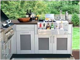 outdoor kitchen cabinets cabinet stainless steel new doors