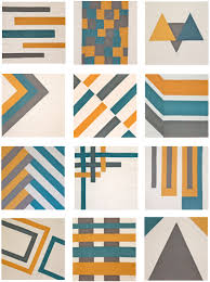 18 Modern Quilt Blocks | Sew Mama Sew & Modern Block of the Month (BOM) Sew-Along Blocks Adamdwight.com