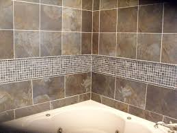 bathroom tile gallery see the bathtub wall surround created with look of real stacked stone that
