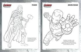 Avengers Coloring Pages Free Avengers Coloring Pages Thor And Iron
