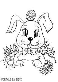 Disegni Da Colorare Coniglietti Artstage