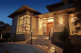 view modern house lights. Plain Lights The House Has Some Truly Stunning Views That Look Exquisite At Sunset  Whole Building Was Constructed By Butterfield Custom Homes And Photographed  Intended View Modern House Lights S