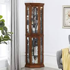 Shop glass curio display cabinets at chairish, the design lover's marketplace for the best vintage and used furniture, decor and art. Display Curio Cabinets Amazon Com
