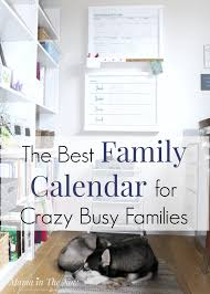Family Planning Wall Chart The Best Family Calendar Tips For Crazy Busy Families