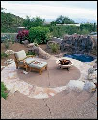 round patio. Desert Terrace Round Patio U
