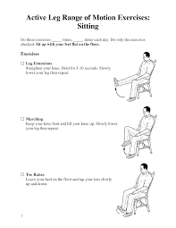 about leg range of motion exercises images source here exercise images range of