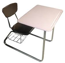 to enlarge one piece used school desk combo