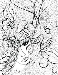 Hard Coloring Pages Of Flowers Iifmalumniorg