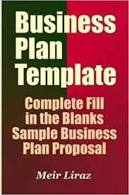 Ms Word Business Plan Template Business Plan Template Complete Fill In The Blanks Sample Business