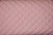 Pre Quilted Fabric | eBay & Pink Gingham 100% Cotton PRE-QUILTED Fabric - By the Yard Adamdwight.com