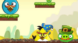 Angry Birds Rebuilding Warrior SKILL GAME WALKTHROUGH BIG AND SMALL! -  YouTube