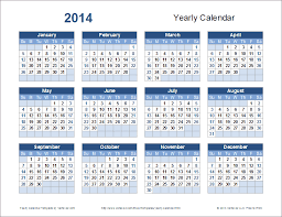 Calendar 2013 Template Yearly Calendar Template For 2019 And Beyond