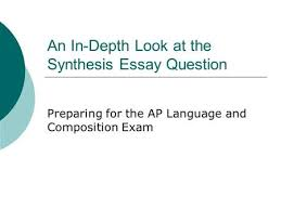 ap language and composition mr eble ppt an in depth look at the synthesis essay question preparing for the ap language and