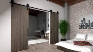 interior sliding door. Visible Hardware For Barn-Style Sliding Wood Doors Interior Door L