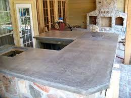 outdoor kitchen concrete countertop concrete by crane custom outdoor kitchen outdoor kitchen concrete countertop sealer