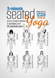 3 minutes office friendly seated yoga workout fitness how to exercise yoga health healthy living home exercise tutorials yoga poses exercising self help