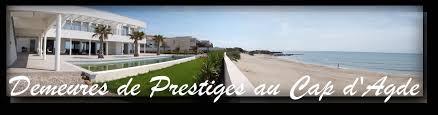 villas et demeures de prestiges au cap d agde