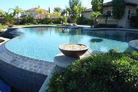 backyard infinity pools. Infinity Pool With Patio Cover Backyard Pools P