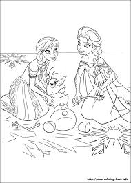 frozen coloring pages on coloring