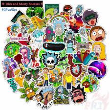 Rick <b>and</b> Morty - Series 02 Stickers <b>50Pcs</b>/Set Mixed Luggage ...