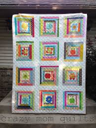 crazy mom quilts: wonky log cabin quilt & wonky log cabin quilt Adamdwight.com